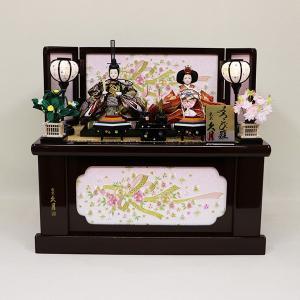 【久月】コンパクト収納衣裳着親王飾り 「よろこび雛」 【売約済み!】|ishizaki