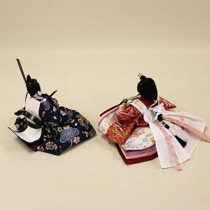 【久月】ひな人形 コンパクト収納三段五人飾り 束帯十二単姿新王官女飾り「よろこび雛」|ishizaki|07