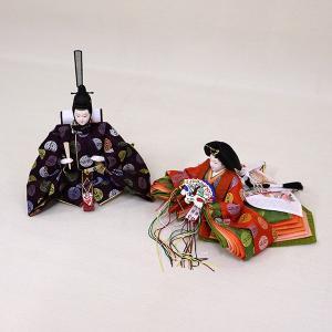 【千匠】雛人形 京都西陣織衣裳着 収納親王飾り 「平安」|ishizaki|04