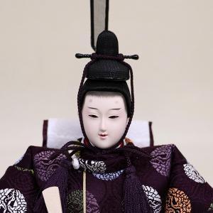 【千匠】雛人形 京都西陣織衣裳着 収納親王飾り 「平安」|ishizaki|05