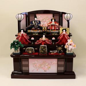 【東玉】コンパクト衣装着三段五人飾り「彩花」 ishizaki
