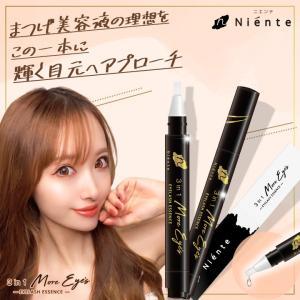 まつ毛美容液 3in1 モアアイズ 4ml まつげ まつエク まつパー NMN ニエンテ 低刺激 目元保湿 保湿 ishokudogen-store