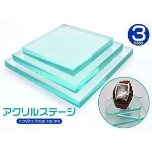 アクリルステージ 正方形 Sサイズ|isis-jennie