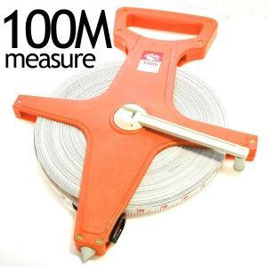 テープメジャー100m 両面メモリ(メートル・フィート表示)|isis-jennie