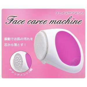 フェイスケアマシン 振動 洗顔機|isis-jennie