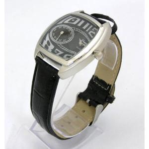ユニーク デザインウォッチ ブラック 腕時計|isis-jennie