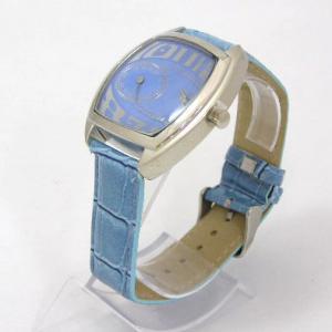 ユニーク デザインウォッチ ブルー 腕時計|isis-jennie