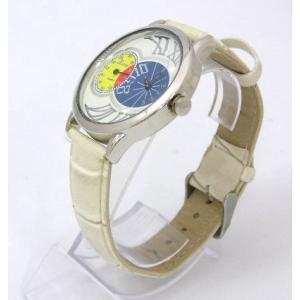 ユニーク カラフルデザインウォッチ ベージュ 腕時計|isis-jennie