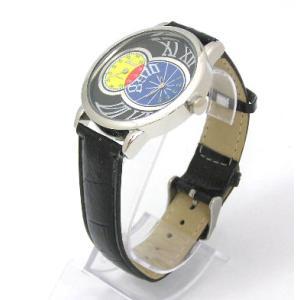 ユニーク カラフルデザインウォッチ ブラック 腕時計|isis-jennie
