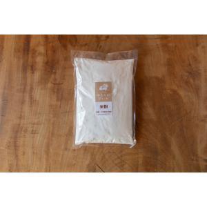 ゆたかわファームの米粉500g(微粒分) 無農薬・化学肥料不使用 iskwnouen