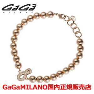 国内正規品 売れ筋 GaGa MILANO/ガガミラノ Men's/メンズ MBN-08PG/メンズナンバーブレス 番号