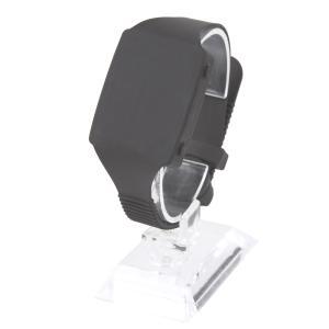 触感時計『タック・タッチ』 腕時計型 カラー:ライト・ブラック|ismap-shop