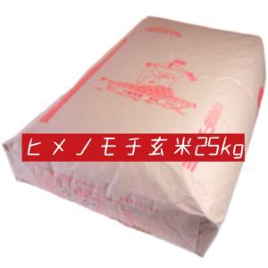 米 玄米 もち米 25kg ヒメノモチ 29年産 綺麗仕上 ...