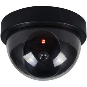 ■送料390円■ドーム型ダミーカメラ■LED点灯 防犯カメラ■オフィスや店舗にも|isozaki-store