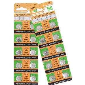 ■何個でも送料80円■10個セット■AG10 LR1130 389 LR54 SR1130W互換、電池|isozaki-store
