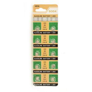 ■何個でも送料80円■ボタン電池10個■LR41/1.55V■複数可|isozaki-store