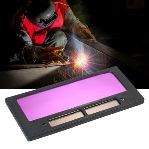 お手持ちの溶接面を、「自動遮光面」にグレードアップさせる液晶式の交換レンズです。  汎用サイズで簡単...