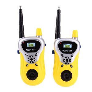 送料390円 トランシーバー 2台セット 子供 おもちゃ 30〜50m使用可能 簡単操作 家の中 通話 小型 無線機 ハンディ|isozaki-store