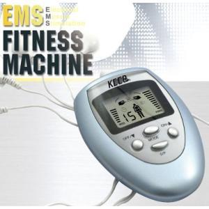 送料590円 EMSフィットネスマシン 引き締め 貼るだけ簡単 腹筋 & スリムボディ フィットネスマシーン  筋肉収縮運動 10段階スピード調整 8種モード|isozaki-store