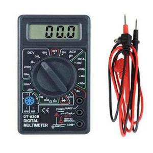 送料無料 小型 デジタルテスター 電流 電圧 抵抗 計測 電圧/電流測定器 モール内ランキング1位獲得
