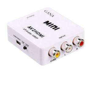 AV HDMI 変換 コンポジット RCA to アダプタ コンバーター AV 変換器 3色 ピン ...