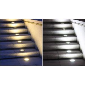埋め込み式 ソーラーガーデンライト 埋め込み 置き型 地面 屋外 4個セット 20LED 防水 自動点灯 明るさセンサー  イルミネーションライト isozaki-store