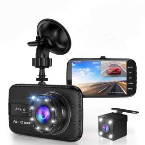 送料590円 ドライブレコーダー 4インチ  前後カメラ バックカメラ 広角 レンズ Gセンサー  1080P 日本語説明書  高画質 フルHD  常時録画 isozaki-store