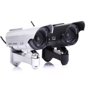 送料無料 ダミーカメラ 防犯カメラ ダミー 屋外用  LED点滅  本物ソックリ|isozaki-store