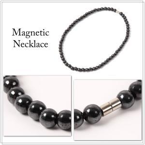 磁気ネックレス 肩こり 送料無料 天然ヘマタイト  肩こり に|isozaki-store|02