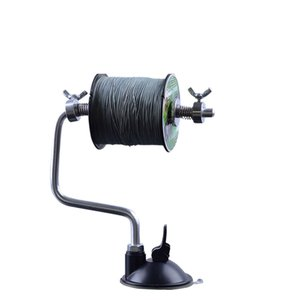 送料390円 ライン巻き 糸巻き機 ラインワインダー 巻取り ライン交換  ロック機能付き 負荷調節可能 吸盤式 ライン巻き取り器  リールスプール 釣り道具|isozaki-store