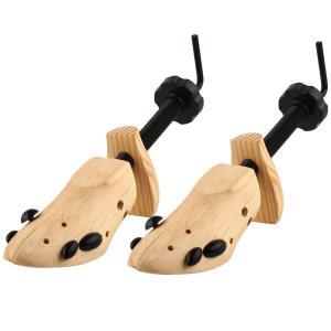 送料590円 シューキーパー 木製 2個セット シューツリー シューズキーパー ブーツキーパー  S M Lの3サイズ 左右兼用 天然木製 しわ伸ばし|isozaki-store