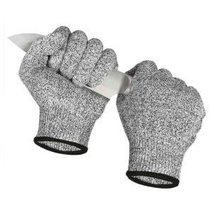 送料無料 切れない 手袋 防刃手袋 左右セット 軍手 耐刃手袋 防刃グローブ 作業用手袋 DIY 大...