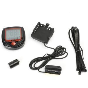 速度 や走行距離などを計測できる有線タイプのサイクルコンピューター(計測器)になります。  防水仕様...