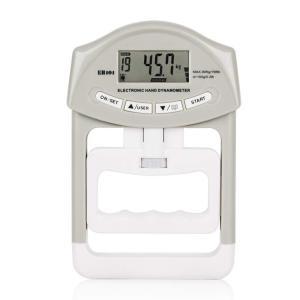 送料590円 握力計 デジタル 握力測定 記録更新機能付き  19人登録