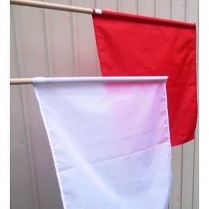 手旗 赤白セット 1組|isp|02