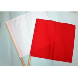 手旗 赤白セット 1組|isp|06