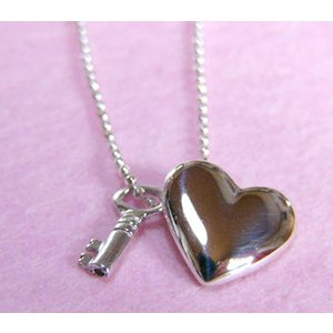 JUDY VILMAIN ネックレス/Heart & Key|ispecial