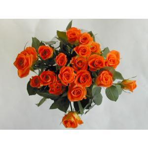 バラの花束20本 オレンジ20本(本体価格6,000円)|ispecial