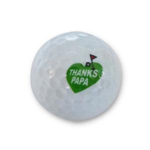 ゴルフギフト イラストメッセージボール 6個セット サンクスパパ(本体価格3,500円)|ispecial