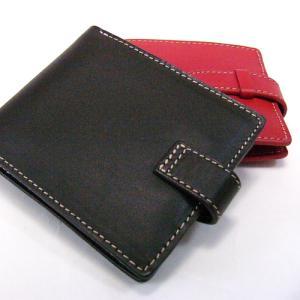 二つ折り財布 パスケース付/4色 オイルレザー GS604|ispecial