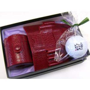 ボールケース ティーホルダー扇形 ゴルフボール1個(本体価格6,400円)|ispecial