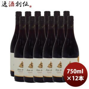 赤ワイン ヴァン ド フランス アンヌ ド ブルグ ピノノワール 750ml 12本 1ケース のし・ギフト・サンプル各種対応不可|isshusouden-2