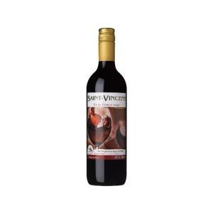 ワイン アサヒ サン・ヴァンサン・ルージュ スクリューキャップ 赤ワイン ビン 750ml 1本|isshusouden-2