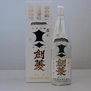 【ポイント最大23倍 9/28~29限定】日本酒 極上黒松剣菱 剣菱酒造 1800ml 1本