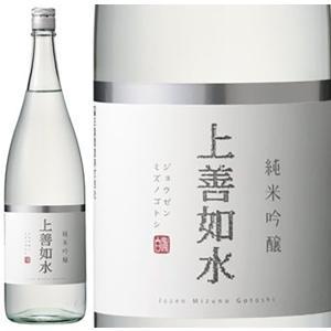 白瀧  上善如水 純米吟醸 1800ml  1本 新潟県 白龍酒造
