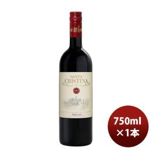 赤ワイン イタリア アンティノリサンタクリスティーナ 赤 750ml 1本|逸酒創伝