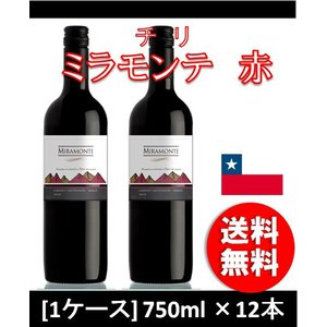 赤ワイン ミラモンテ 赤 750ml 1ケース wine|逸酒創伝