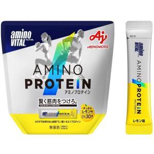 味の素 アミノバイタル アミノプロテイン レモン味 30本入パウチ 4.3g × 30本