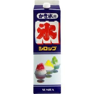 シロップ かき氷シロップ コーラ スミダ飲料 1800ml 1本