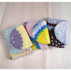 カードケース クッキーフラワー メール便送料無料 おしゃれ 手作り 日本製 北欧風 可愛い プチプレゼント|issoecco
